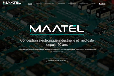 Page accueil maatel.com