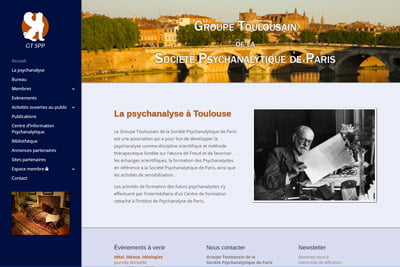Page d'accueil Psychanalyse Toulouse